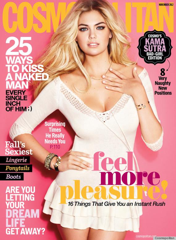 kate Upton Cosmopolitan Cover Sizzles