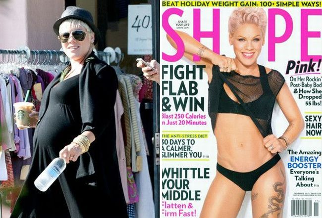 Pink Loses 55 pounds, Reveals Slimmed Down Bod On Mag Cover - dBTechno