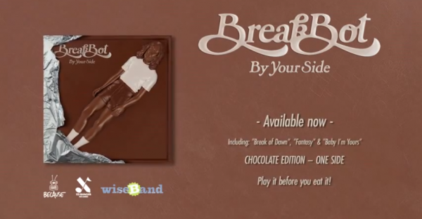 Breakbot chocolate album makes a delicious gift idea