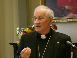 Picture of Marc Cardinal Ouellet taken in the Spring of 2008