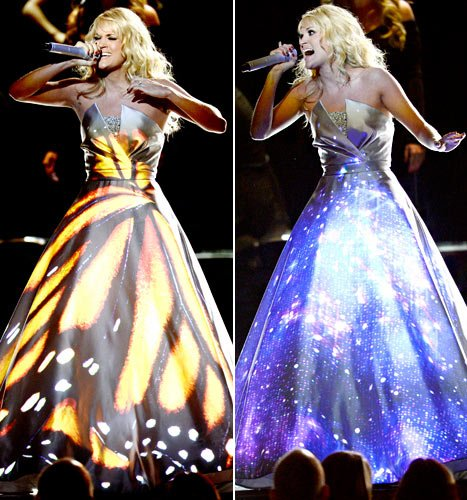 Carrie Underwood's Magic Dress Was Created By Canadian Designer