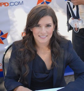 Danica Patrick: Fastest Time In Qualifying