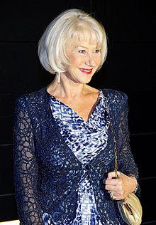Helen Mirren Rocks Pink Hair At BAFTA's