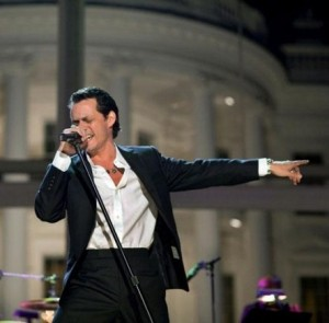 Marc Anthony Shows Off New Girlfriend