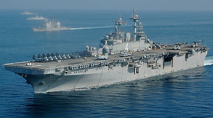 Starbucks On A Warship? USS Boxer Gets It's Own Coffee Shop