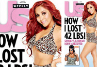 Snooki 42 pounds