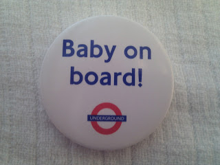 """kate middleton given """"Baby-On-Board"""" Pin"""