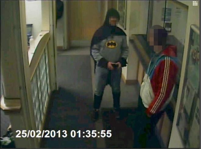 Batman Helps Police In England (PHOTO)