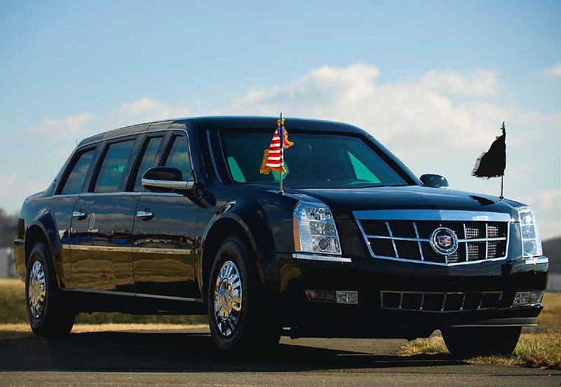 obama limo towed