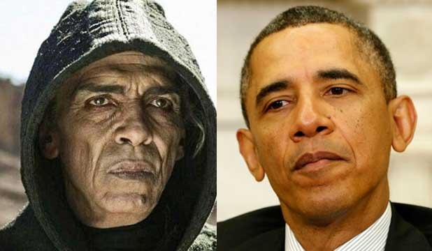 Obama Satan look-Alike Controversy is utter Nonsense Say Producers