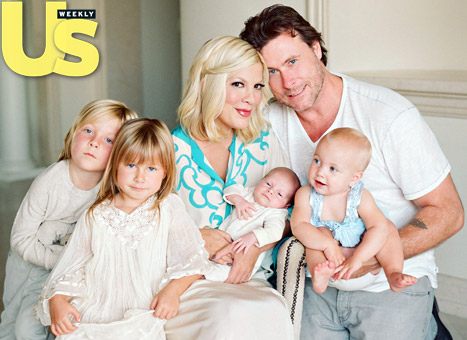 Tori Spelling Hospitalized Following Miscarriage