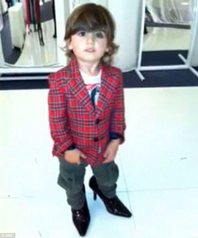 Celine Dion's Son Walks Better In Heels Than Mom