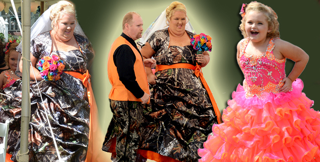 Honey Boo Boo wedding: Mamma June Ties The Knot Red Neck Style