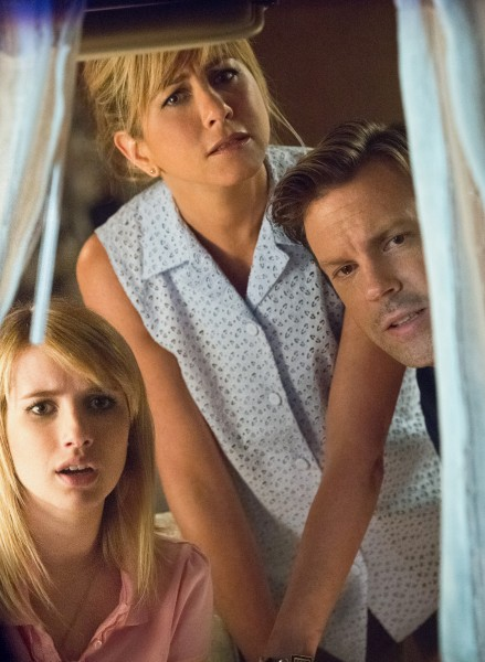Jennifer Aniston, Jason Sudeikis, & Emma Roberts star in WE'RE THE MILLERS