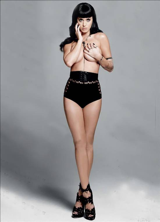 Katy Perry Wont Strip off Like Miley or Rihanna