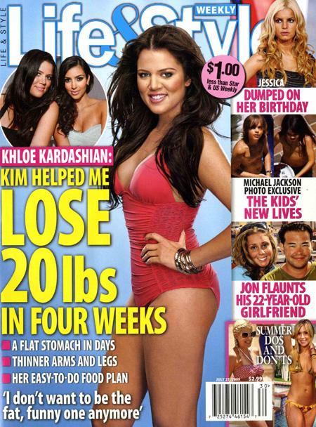 Khloe K's Weight Loss: Star Down 25lbs