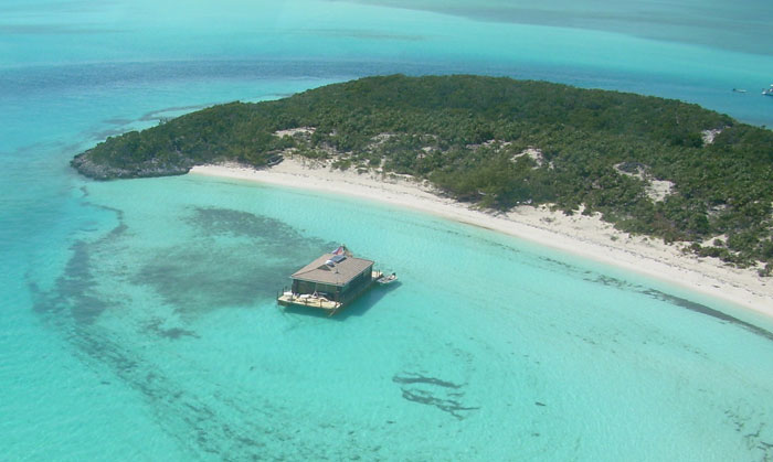 Johnny Depp buys Little Hall's Pond Cay, Has A Fleet Of Golf Karts To Get Around