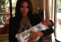kim kardashian Baby Party: North West Celebrates Her First Fourth Of July