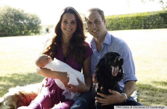 royal baby portrait released after being leaked (PHOTO)