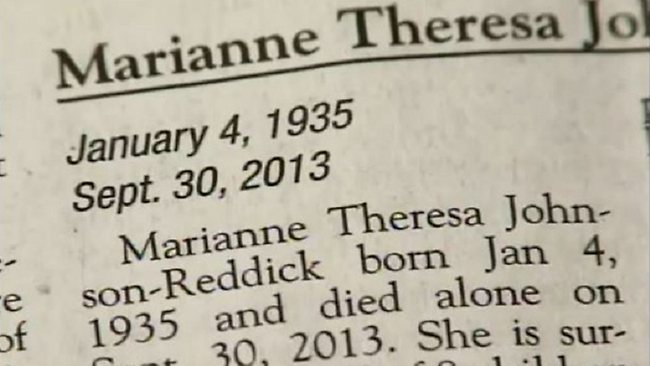 Children Write Scathing Obituary For Mother