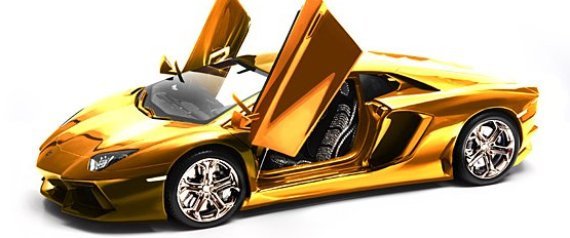 This Gold Plated Lamborghini Will Cost You $7.5M (PHOTO)