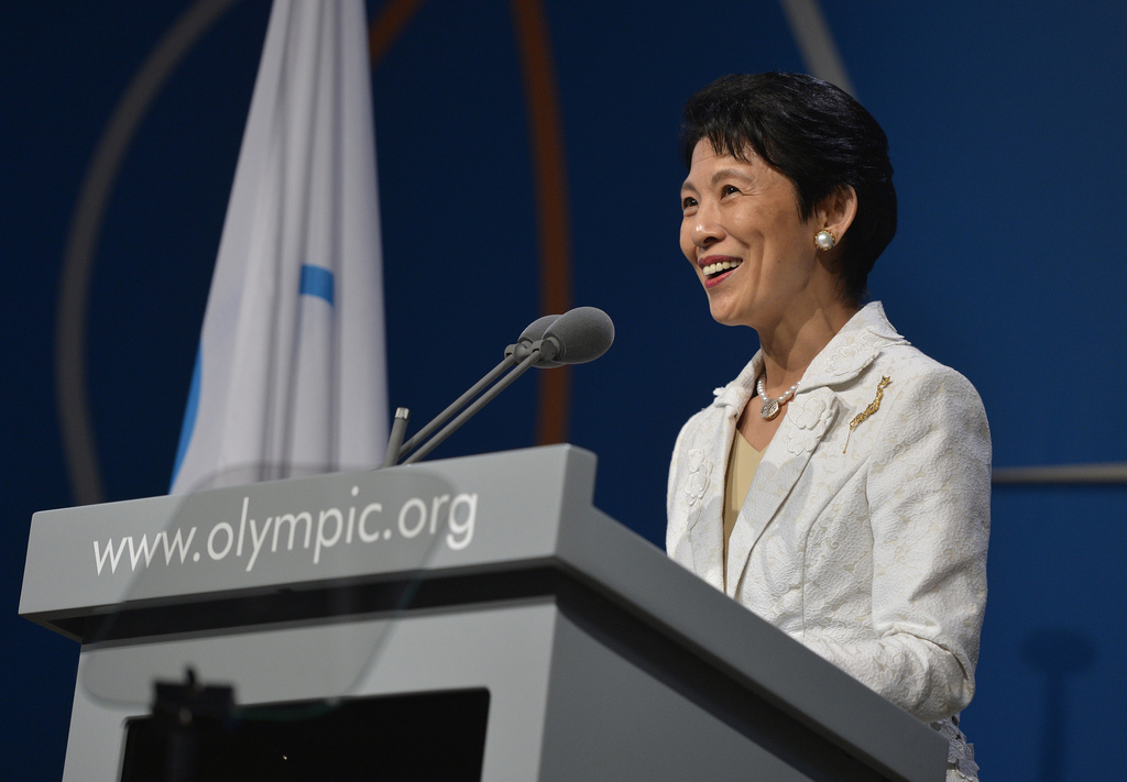 Presentation of Tokyo 2020 to the IOC Session in Buenos Aires (c)IOC/Juilliart