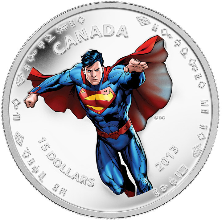 $15 Fine Silver Coin – Modern Day Superman™ (2013):