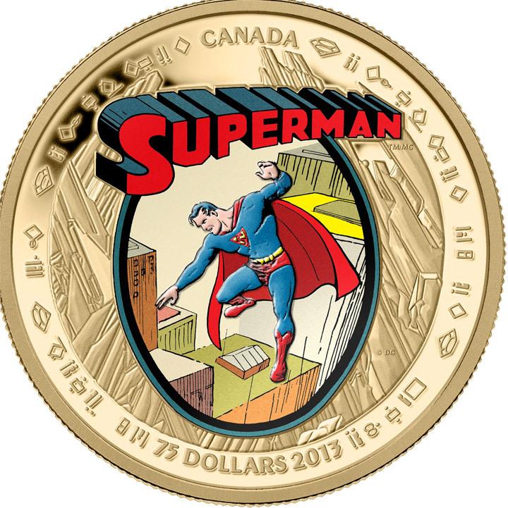 superman coins 2013