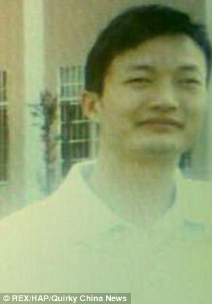 Murdered: Teacher Sun Wukang was killed by one of his students after taking the youngster's phone