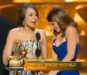 tina fey s nip slip at the emmys 2013 see her home emmys tina fey