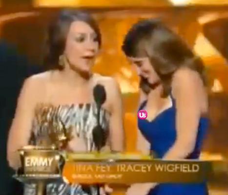 Tina Fey Nip Slip At Emmy Awards: Star Laughs It Off