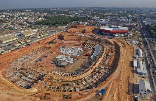 World cup stadium will now process prisoners