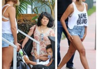 beyonce jay z vacation with daughter in Italy (PIC)