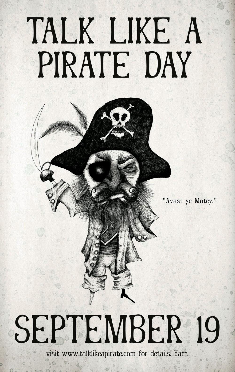 Talk Like A Pirate Day 2013: How To Speak Pirate Matie!