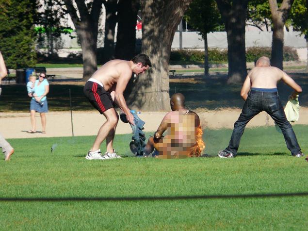 D.C. man on fire: Man Used Fuel To Set Himself Ablaz