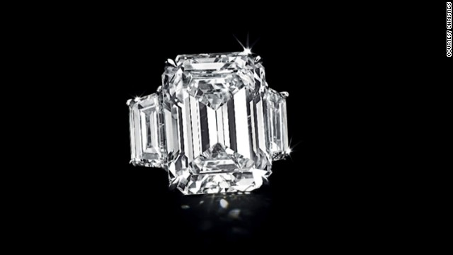 Kim Kardashian Engagement Ring Goes To Auction