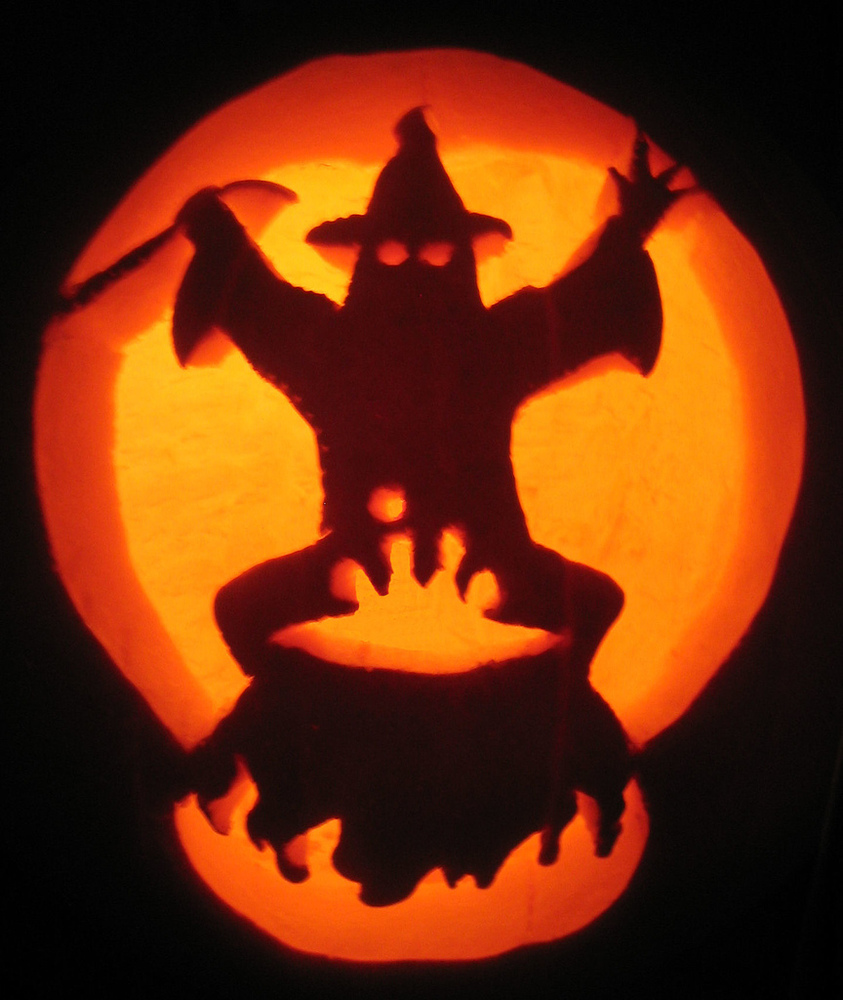 Pumpkin carving stencils designs and patterns online will for Different pumpkin designs