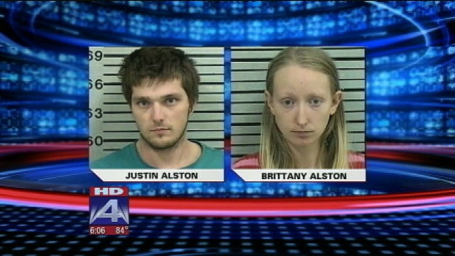 Justin and Brittany Alston sentenced For Starving Their Baby