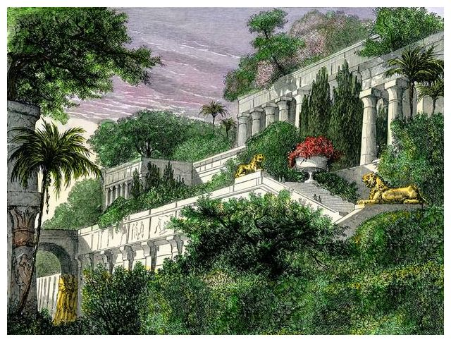 Real Site Of Babylon Hanging Gardens Wonder Revealed Ecanadanow
