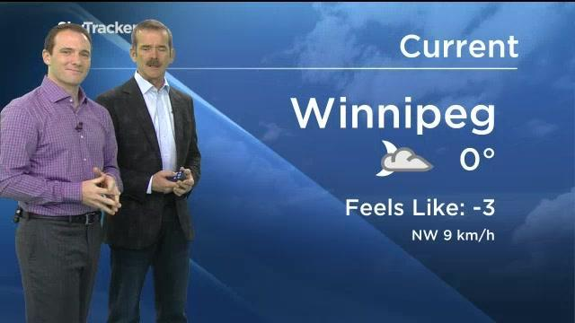 Commander Chris Hadfield Takes Over Weather Forecast Duty