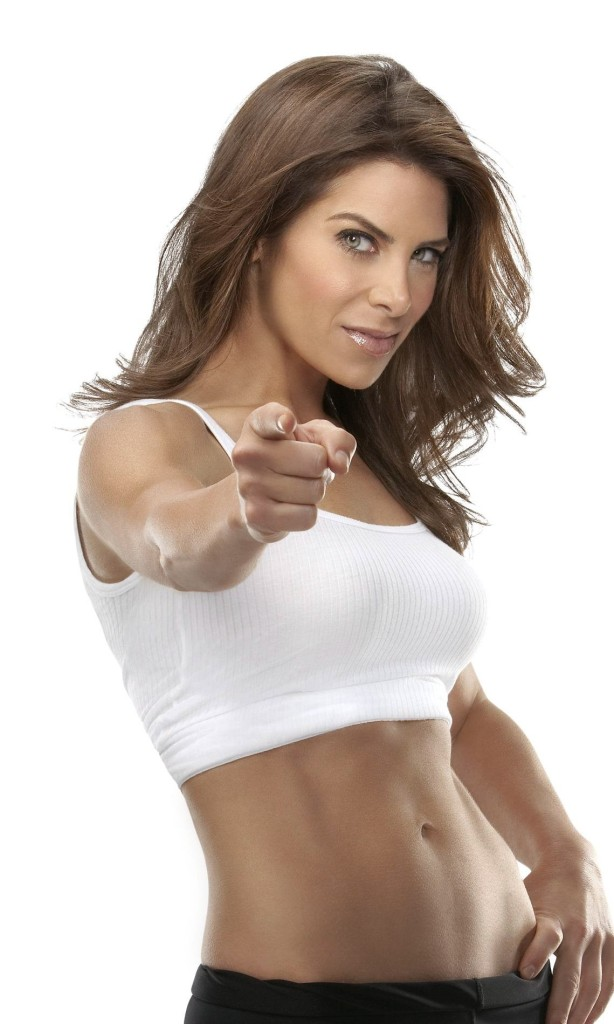 Jillian Michaels a trainer on the  Biggest Loser