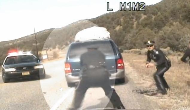 Police Shoot At Minivan Full Of kids, Who's At Fault? (VIDEO)