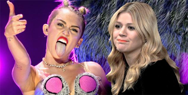 Miley Cyrus friend calls Kelly Clarkson fat