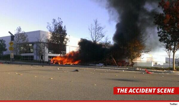 paul walker dead crash photo