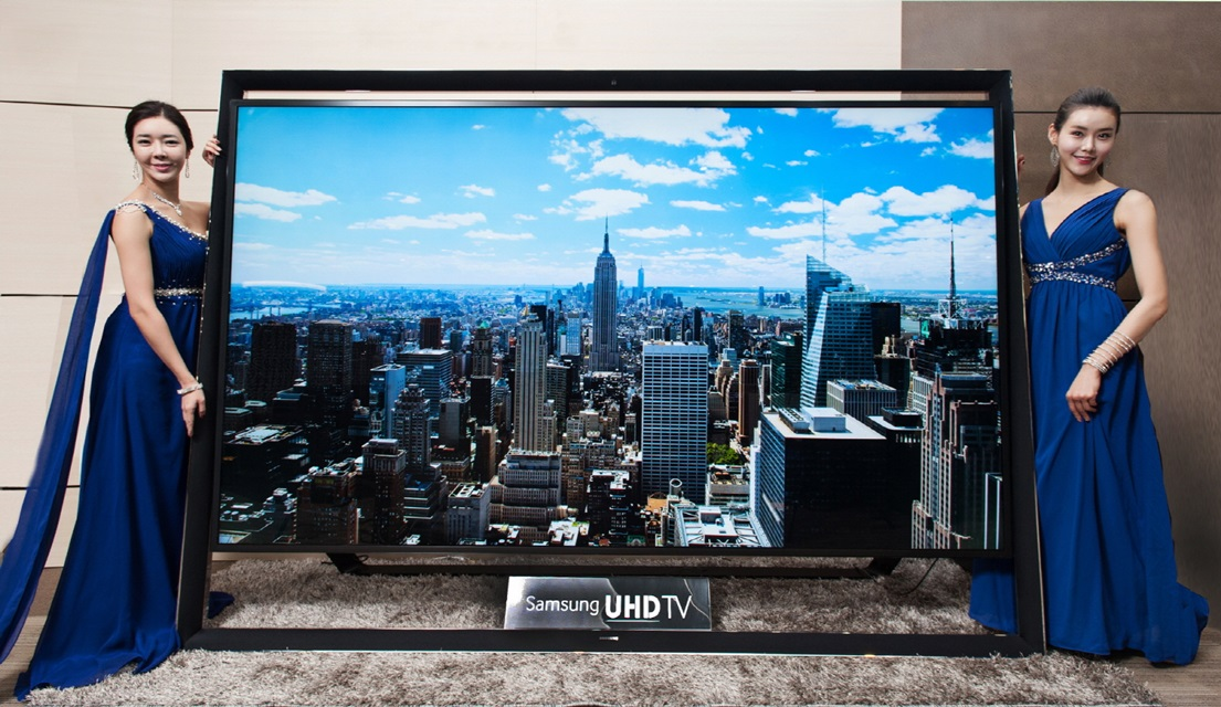 $150,000 television:  110-inch ultra HD TV To Hit The Market