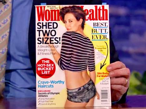 Evangeline Lilly slams cover: