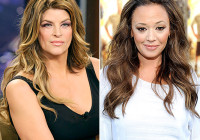 "In a new interview with Howard Stern, Kirstie Alley calls Leah Remini a ""bigot"" for saying negative things about the Church of Scientology Credit: Paul Drinkwater/NBC/NBCU Photo Bank; Frazer Harrison/Getty Images"