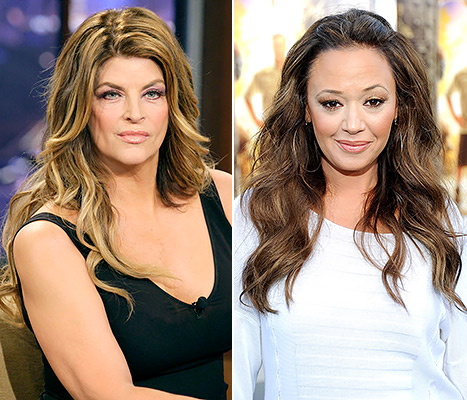 Kirstie Alley, Leah Remini Fued Heats Up On The Howard Stern Show