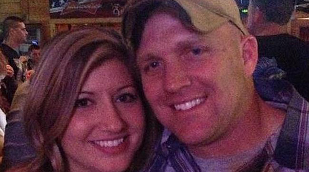 Cherilyn and Brandon McGraw pitcured before his death. Photo: Facebook