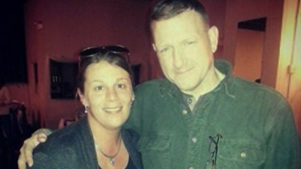 William 'Riley' Knight, shown with his wife Nikki, was killed when he was struck while trying to help a motorist in Crown Point, Indiana on Saturday, Dec. 14, 2013. Read more: http://www.ctvnews.ca/world/u-s-groom-heading-home-from-his